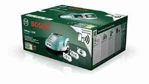 Verpackung des Bosch Indego 1200 Connect